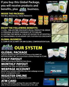 This is how to start AIM GLOBAL business.