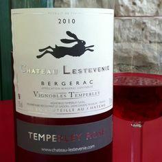 Rosé - Chateau Lestevenie. 24 juni 2012 - Bij de lunch - ***