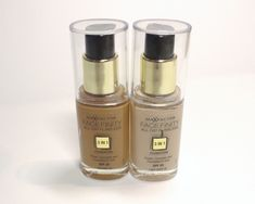 Max Factor Face Finity All Day Flawless Foundation - Review and swatches of shades Caramel and Ivory ~ MUST-READ review as this foundation is Pat McGrath recommended and at a drugstore price!