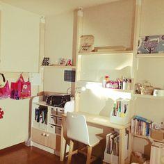 bc47205ca25e 棚/IKEA/無印良品/こどもと暮らす。/シンプルな暮らし/マンション暮らし...などのインテリア実例 - 2017-06-27 20:35:25 |  RoomClip(ルームクリップ)
