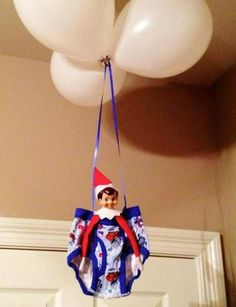 Christmas is upon us and so is the Elf On The Shelf tradition! If you need some ideas on where to hide your elf this year, well you've come to the right place. Here's a list of over 70 creative Elf On The Shelf ideas for your family to enjoy. Elf On The Shelf, Shelf Elf, Elf Auf Dem Regal, Shelf Inspiration, Elf Magic, Naughty Elf, Buddy The Elf, Christen, Christmas Traditions