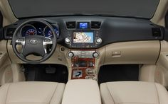 2015 Toyota Highlander Interior Redesign