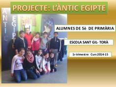 Projecte 5è - ANTIC EGIPTE