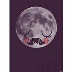 Moon For Neil poster by Martin Krusche $30