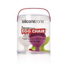 4 coquetiers Egg Chairs - Silicone Zone