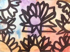 Art With Mr. E: Spring Flowers:2nd Grade