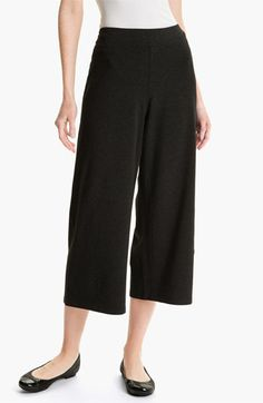 Eileen Fisher Wide Leg Crop Pants available at #Nordstrom