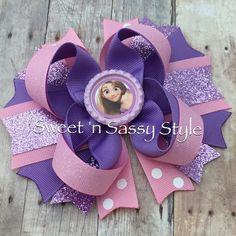 Rapunzel de Tangled 5 arco del pelo del Boutique