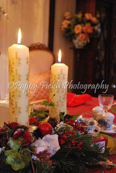 christmas table Pillar Candles, Table, Christmas, Photography, Xmas, Photograph, Weihnachten, Navidad, Photo Shoot