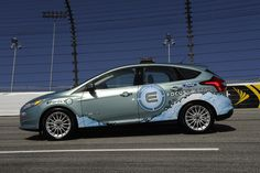 100% electric pace car for NASCAR. Step in the right direction...