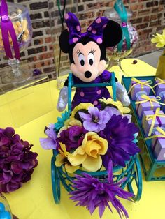 Minnie Mouse baby shower birthday party! See more party ideas at CatchMyParty.com!