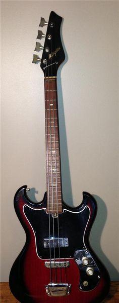 Teisco 60s Kingston bass guitar