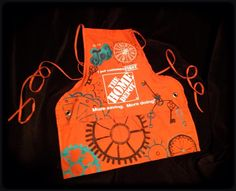 Home Depot Aprons By Artist Courtney Rogers Page Www Facebook Com Lilmisstexan