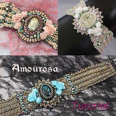 Beading pattern - Bracelet 'Amourosa'