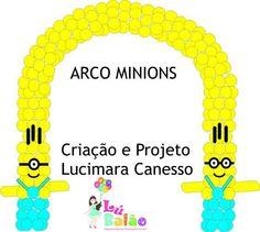 Arco Minion Theme, Minion Birthday, 4th Birthday, Birthday Ideas, Despicable Me Party, Minion Party, Balloon Words, Balloon Arch, Ballon Decorations