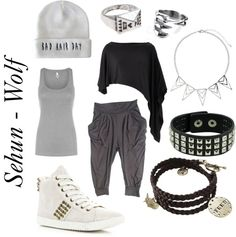 """Outfit inspired by: Sehun in Exo's """"Wolf"""" MV."""