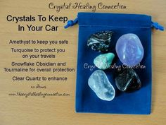 Crystals for car travel protection