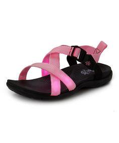 6f00e1f5ab25 Firebugs Pink   Black Light-Up Sandal