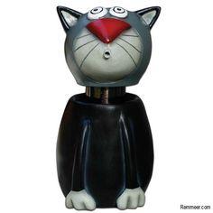 Liquid Hand Soap Cat Dispenser - Cat Lotion Spitter Pump Dispenser