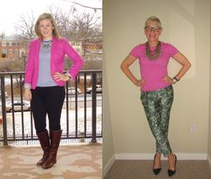 Hot Pink Tops - Two Take on Style