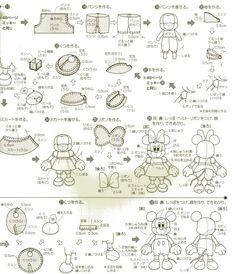 pattern for felt mouse Mickey Y Minnie, Minnie Mouse, Felt Diy, Felt Crafts, Storybook Characters, Felt Mouse, Disney Diy, Felt Ornaments, Paper Piecing