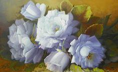 Cuadros Modernos Pinturas : Nuevos Cuadros de Flores, Jorge Maciel