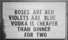 choose vodka