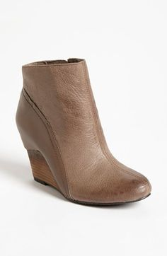 Vince Camuto 'Hillari' Boot available at #Nordstrom -  Just got these in taupe + black. They fit great! I will rotate these out with my TOM wedge bootie that I'm wearing out lol