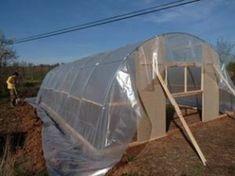 Cómo hacer tu propio invernadero con tubos de PVC – huertaelcampichuelo Outdoor Gear, Tent, Diy, Gardens, Build A Greenhouse, Greenhouse Gardening, Pvc Pipes, Chicken Coops, Green Houses