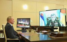 Vladimir Poutine, Etat Major, Flat Screen, Cas, Russia, October, Interview, Flat Screen Display, Flatscreen
