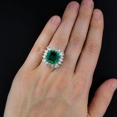 9 carat emerald ring