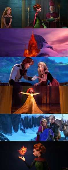 Frozen and RotBTD crossover