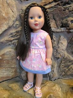 """Madame Alexander 2009 18"""" Doll; Blue Eyes, Brown Hair #DollswithClothingAccessories"""