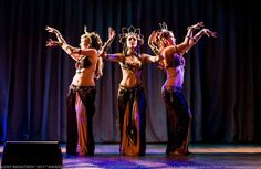 Roksana, Milana & Lidia - temple tribal fusion trio @ Tribal Blossom Show