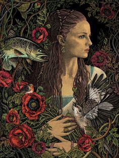 A artista e ilustradora polonesa Magdalena, mais conhecida pelo pseudônimo de Bubug, cria uma atmosfera gótica em cores vivas, repleta de detalhes em suas ilustrações. Com influências que vem princ…