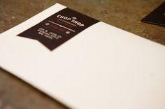 Chop Shop by PTARMAK   identity & branding