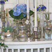 candlestick poor man's silver vase poor man's silver
