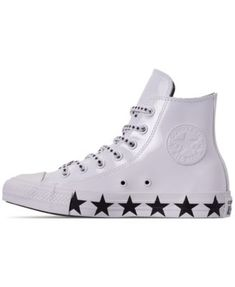 Converse Women s Chuck Taylor All Star x Miley Cyrus High Top Casual  Sneakers from Finish Line 70bc7a6c9