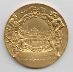 Gold Medal awarded to the Wilson Brothers Bobbin Company Ltd at the Japan (Japanese) British Exhibition 1910