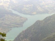 drina river frm tara mountain