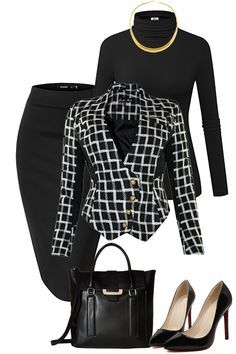 Classical Work Outfit For Winter – Office Fashion Stylish Work Outfits, Fall Outfits For Work, Business Casual Outfits, Business Attire, Work Casual, Classy Outfits, Beautiful Outfits, Business Formal, Business Fashion