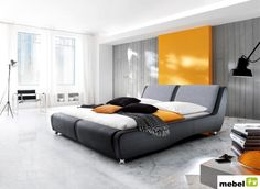 This bed paves way to emphasize the headboard shapes to fit the entirety of the bed enabling couples to feel the comfort only novara can offer. The stainless design of its stand carries a mark of great quality making it a desired bed collection Black King Bed, Headboard Shapes, King Size Bed Frame, Black Bedding, Bedroom Bed, King Beds, Bedding Collections, Modern Decor, Upholstery
