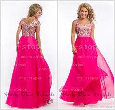 Prom Dress Cap Sleeves