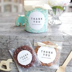 100pcs/lot Translucent dots Plastic #cookie packaging Bags Cupcake Wrapper self Adhesive #bag For #Wedding #Party Decorate VBT81P40