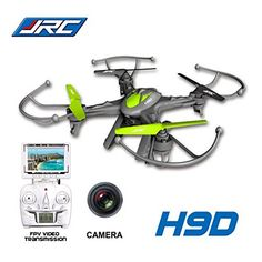 JJRC-H9D-24G-4-canales-6-Axis-Gyro-RC-Quadcopter-con-03MP-cmara-FPV-Transmisin-en-tiempo-real-H9D