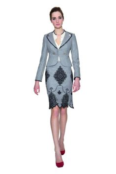 Kostüm Ornamente Stein #trachtsetter #tracht #kostüm #alpencouture Dresses For Work, Couture, My Style, Vintage, Fashion, Alps, Stone, Moda, Fashion Styles