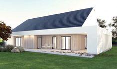 Gotowy projekt domu parterowego A-26 - NANOstudio®