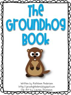 Free!! Fun Groundhog Book!! 15 pages with cute activities!