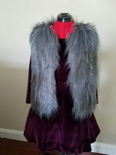 Put your Faux Fur Vest, Velvet Dress and a petticoat and you get this great fall look for any occasion.  GREAT Outfit Of Choice.  Check out what we have at couture threads.