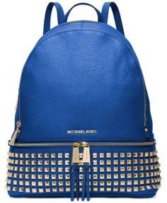 MICHAEL Michael Kors Rhea Zip Large Studded Backpack